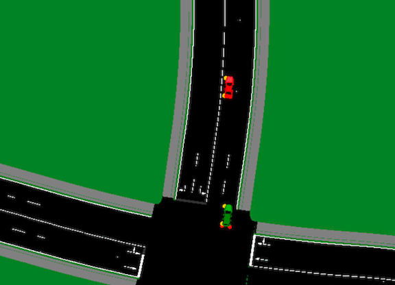 Figure 5: Right-hand side traffic flow